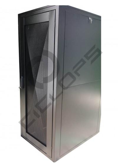 """Rack Piso 19"""" 44U L800 P1100 Preto"""